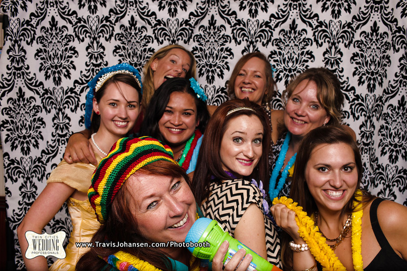 Fun photobooth for groups from a Minneapolis Photobooth Rental Company