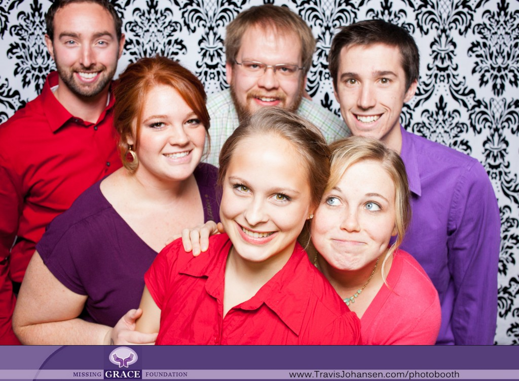 Missing Grace Foundation Photobooth at University of Northwestern St Paul Minnesota