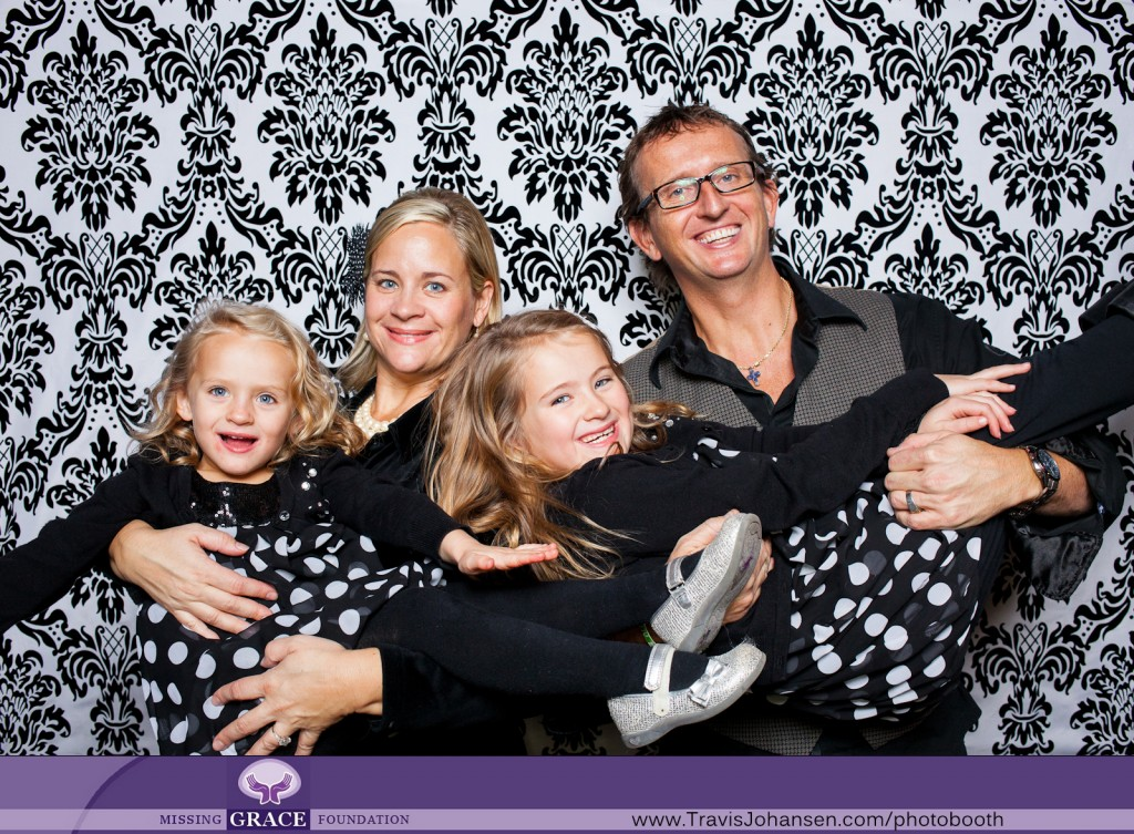Missing Grace Foundation in Photobooth at University of Northwestern St Paul Minnesota