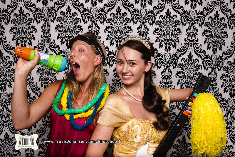 Princess Belle costumein the Minneapolis Photobooth Rental Booth